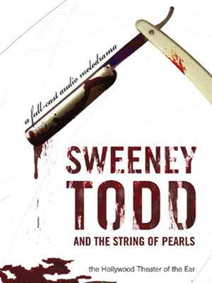 cover image of Sweeney Todd and the String of Pearls